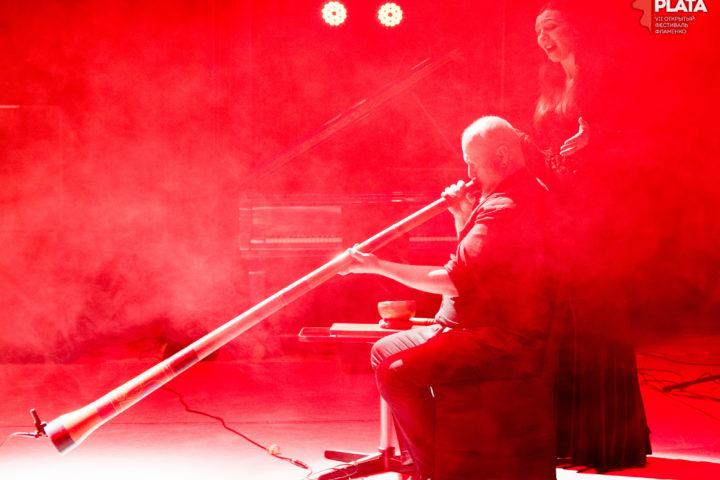Кирил Россолимо. Мария Жаркова.  VII Открытый фестиваль фламенко «La Plata» 2018
